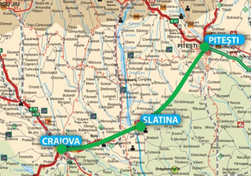 Stănescu: Primele tronsoane ale drumului expres Craiova-Pitești, atribuite