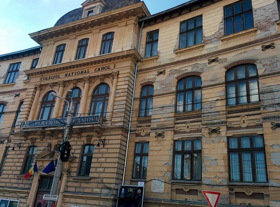 Opera Română Craiova și Colegiul Carol, reabilitate cu bani de la bugetul central:  valoarea investiției va depăși 18 milioane de euro