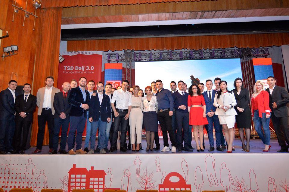 """TSD Dolj se dezice de liderul organizației naționale care a trecut de partea lui Tudose și vrea """"schimbarea la față a PSD"""". Alexandra Presură: Această luare de poziție nu a fost dezbătută și acceptată de membrii TSD"""