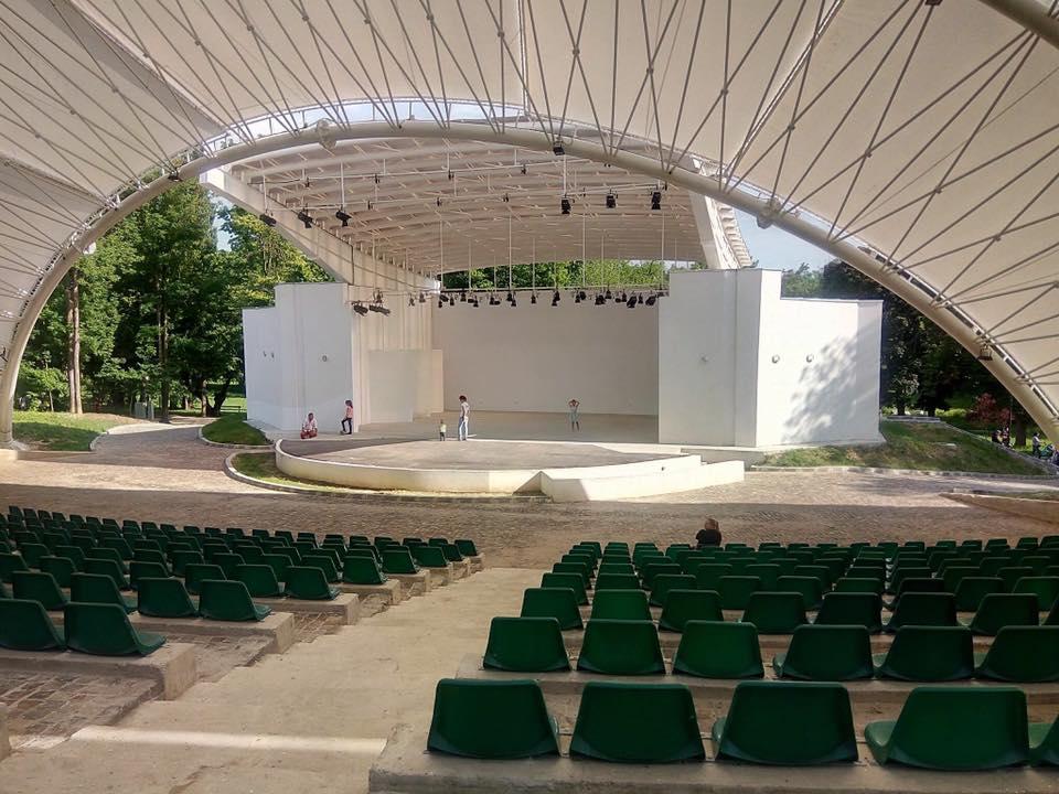 Se inaugurează Teatrul de Vară din Parcul Romanescu