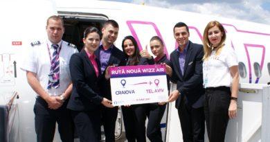 Prioteasa: Anul 2017 este unul de excepție pentru Aeroportul Internațional Craiova. Numărul record, de 222.320 de pasageri, înregistrat pe întreg anul 2016, depășit