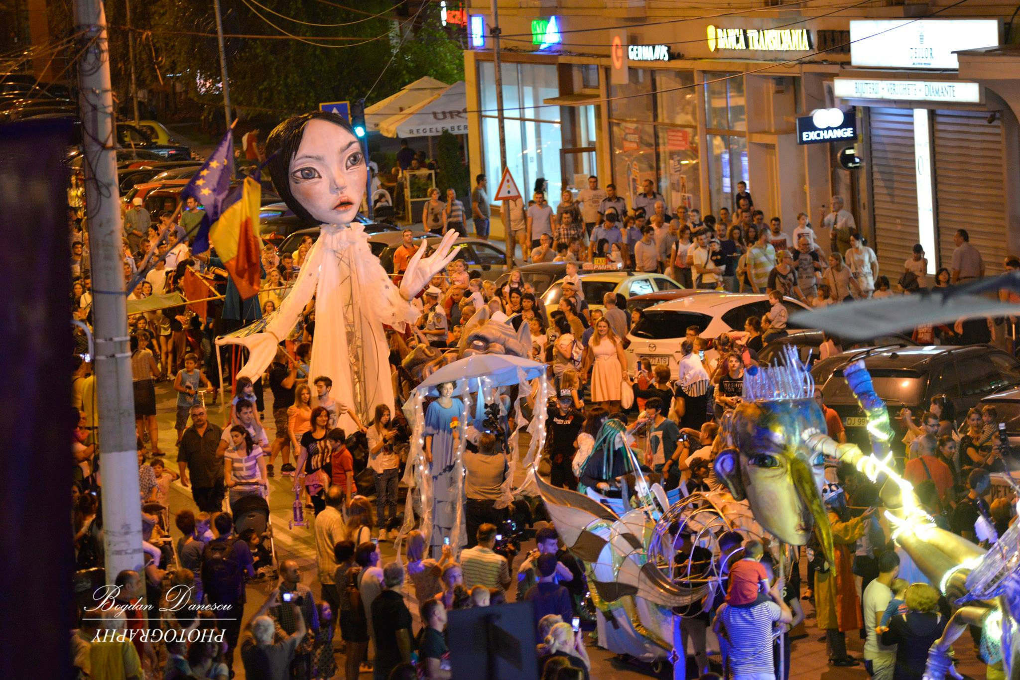 FESTIVALUL PUPPETS OCCUPY STREET,  Ediţia a IV – a, Air Edition,  Craiova, 25 august – 1 septembrie 2017