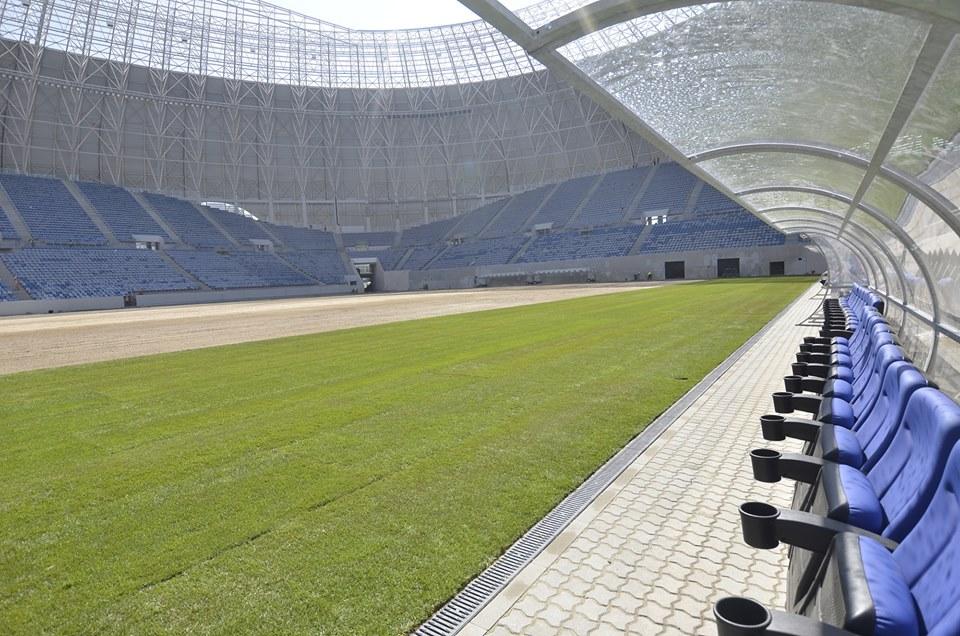 Iarba verde de acasă. Olguța Vasilescu, primul interviu pe gazonul noii arene din Craiova