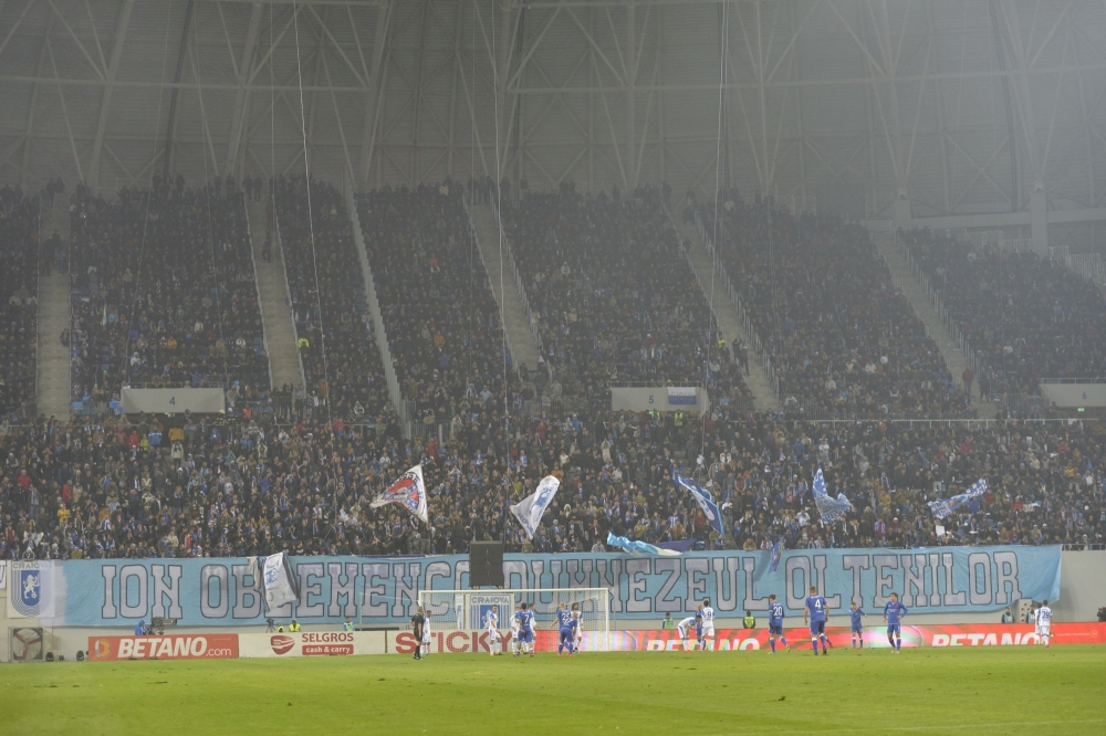 Craiova-Dinamo, meciul meciurilor din sferturile Cupei României. Partida se va juca în Bănie