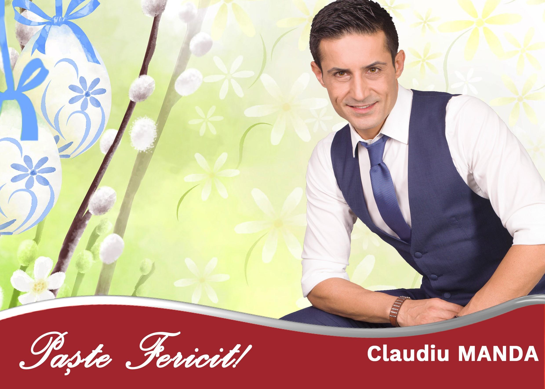 Claudiu Manda: Paște Fericit!