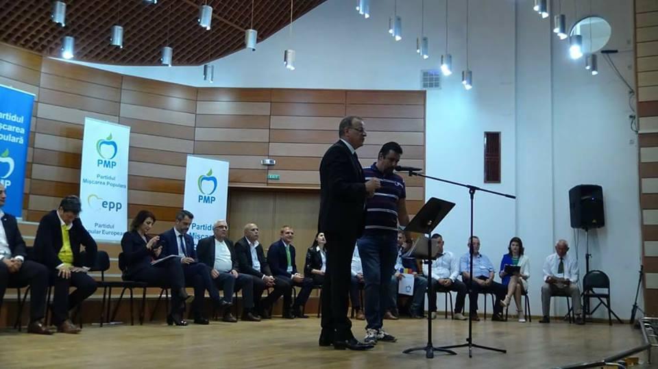 Dan Păloiu, ales președintele PMP Dolj cu o largă majoritate